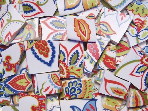 Mosaic Tiles--100 PIECES. Perfect for your mosaic projects
