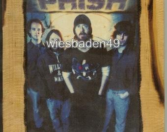 Phish - Wooden Plaque