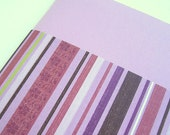 FREE SHIPPING Blank Notebook in Lilac