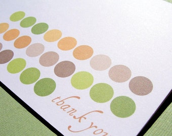Thank You Cards - Dots