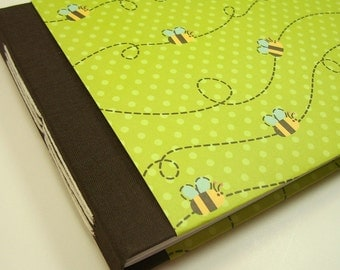 Personalized Baby Shower Guest Book // Cute Animal Pattern // Three Cover Paper Options