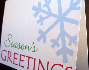 Holiday Card Set // Season's Greeting