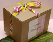 4 Bars of  Goats Milk Soap of Your Choice - GIFT BOX