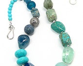 Azure Bonbon Necklace