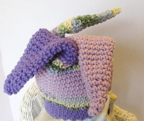 Free Crochet Joker Hat Pattern : Jester Hat for 2T to Adults Crochet Pattern pdf 284