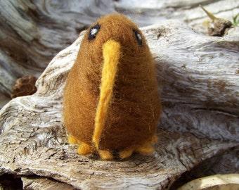 Needle Felted Kiwi Bird