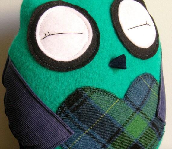 Woodland Hoot Owl - Woolen Goodwyn - Eco Friendly Doll with Secret Pocket