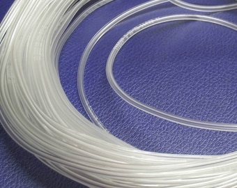 Clear Vinyl Tubing for Lining Lampwork Beads - 3 Ft.