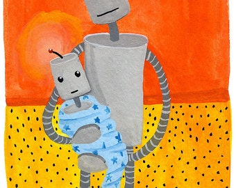 Robot Newborn