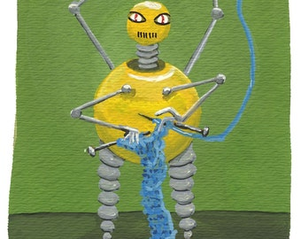 Knitting Robot