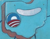 Your State for Obama Painting
