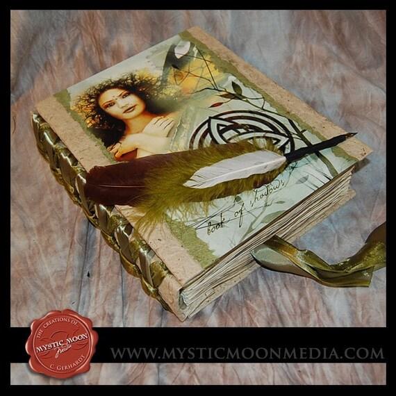 Book of Shadows.. XL... Journal... Elmental Earth...Light Earthy Colors