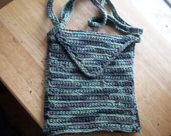 Hand Crocheted Hipster Bag