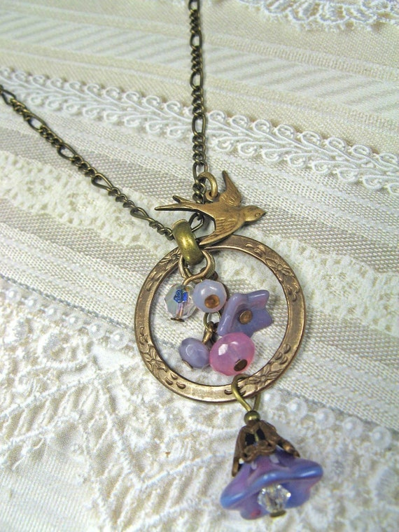 Enchanted Bluebell Necklace