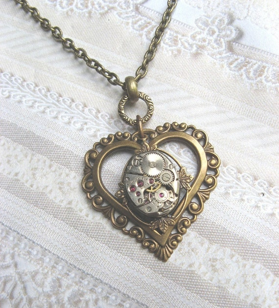 Once Upon A Time Fancy Filigree Heart