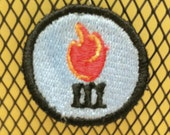 Science Scouts Badge - I've set fire to stuff