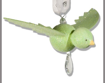 Grass hopper Green Hanging Bird- Baby Mobile- Nursery Mobile