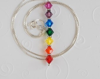 Chakra Necklace 18 inches