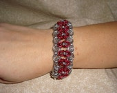 Byzantine Bracelet  9 inches in length.