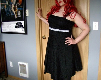 Black Lolita Formal Dress XL
