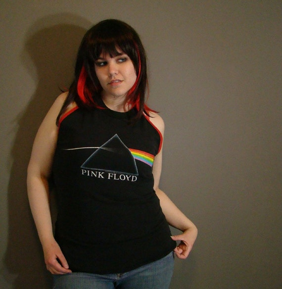 Pink Floyd Shirt. L. Upcycle
