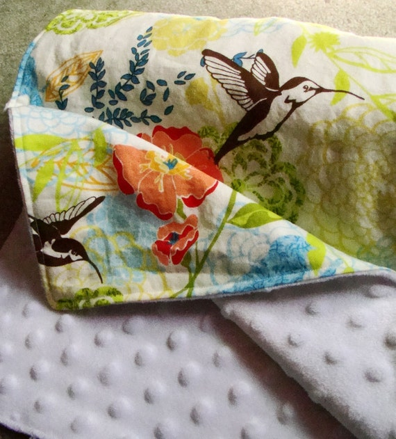 Humming Bird Baby Blanket