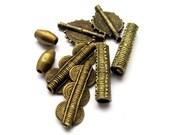 African Brass Baule Beads