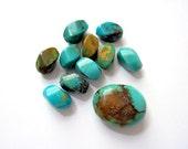 Turquoise Bead Mix  -  Destash