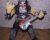Blackest Metaller EVAR Figure with Guitar