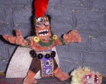 AMPUTHEATRE- Zuhochtlotl Gaming Figure with Sundered Head