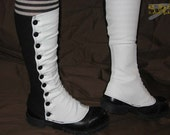 Two-tone Spats Small, Medium or Large