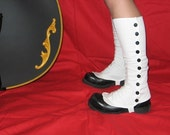 White Mad Scientist Spats, Small