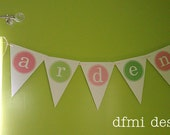 CUSTOM NAME BANNER large reusable Room, Party, Wedding or Shower Decoration 2 dollars per letter