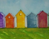 Beach Hut ORIGINAL E McIsaac