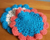 Crochet Wash Cloths - 2