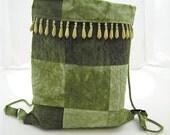 Elaina Organic Bamboo Hand Dyed Quilted Bag