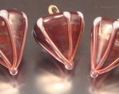 Glass, Button, Bead Dangle Lampwork