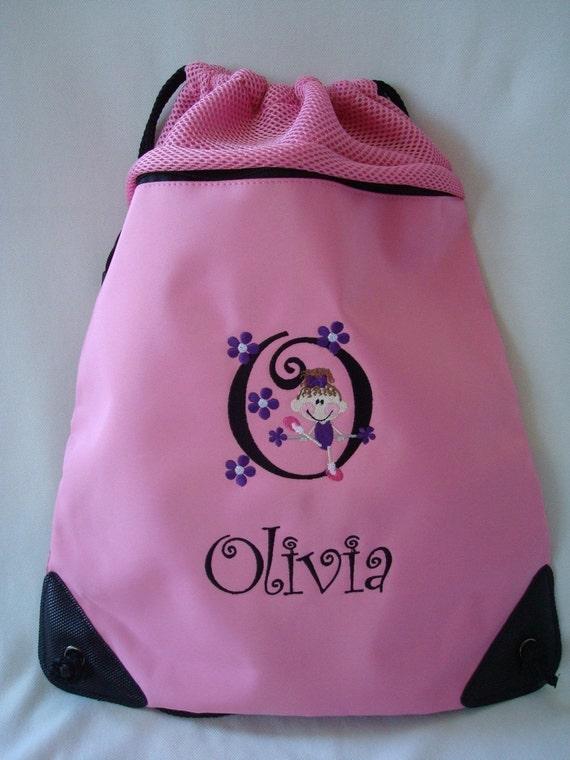 Personalized PreBallet Cinch bag Ballet