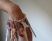Narcissistic Piece of Crap, charm bracelet