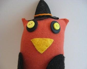 Witch Hoozle - sock owl