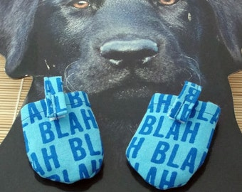 Blah HUSH PUPPY Dog Tag Covers