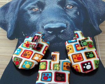 Square Paws  HUSH PUPPY Dog Tag Covers