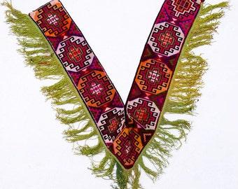 Vintage Uzbek Textile: Ethnic Wallhanging, Saye Gosha 1