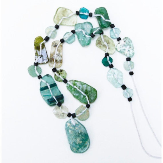 Roman Glass Bead Strand from Afghanistan, 6
