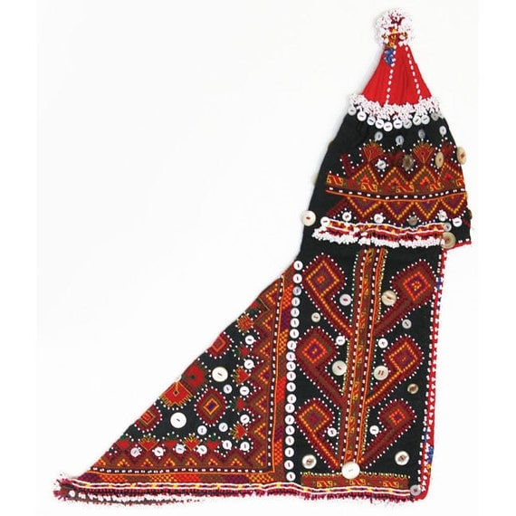 Vintage Baby Hat, Kohistani or Nuristani, Afghanistan  NurHat1