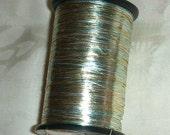 Vintage Kimono Metallic Thread - Gold/Silver/Blue - Embroider - Embellish - Decorate - 50 Yards