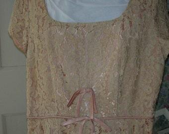 Bridesmaids Lace Dress