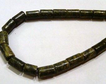 Closeout - 32 Ryolite Cylinder beads