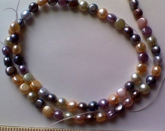 Closeout - Full strand of top quality freshwater pearls