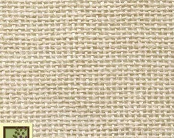 30 by 36 Rug Hooking Bleached Primitive Linen Foundation Cloth